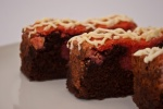 Brownies Oven Strawberry
